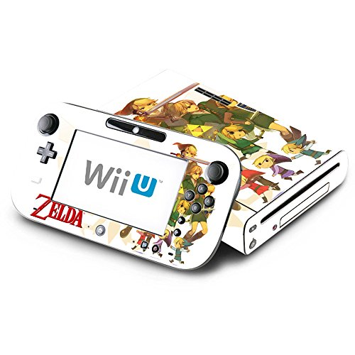 The Legend of Zelda Decorative Decal Cover Skin for Nintendo Wii U Console and GamePad