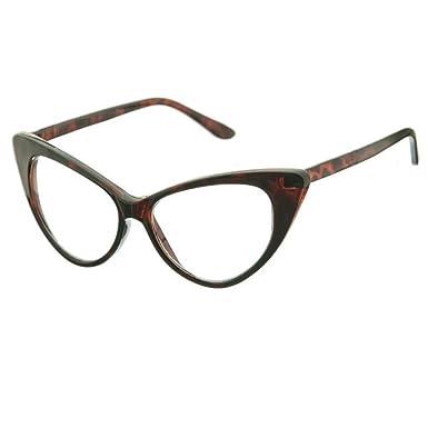 Neutral lunettes baiser ®-mod. NIKITA-CAT lunettes clairement lunettes vintage femme - LA HAVANE Ghq3lcQ