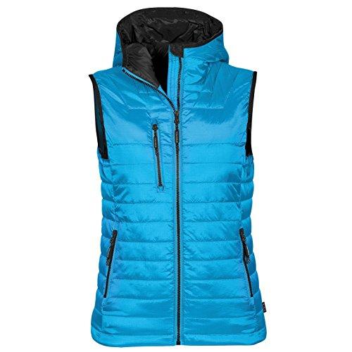 (Stormtech Womens Gravity Thermal Vest/Gilet (S) (Electric Blue/Black))