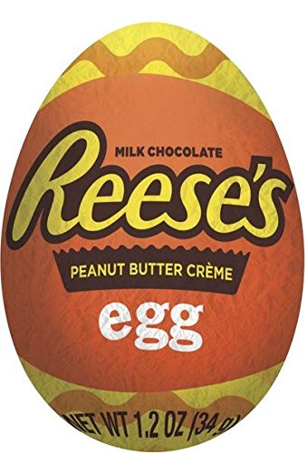 Reese's Peanut Butter Creme Eggs, 1.2 oz each, 48 count Bulk