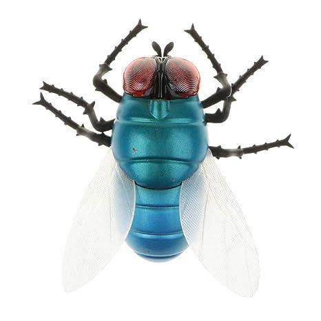 Homyl Juguete de Animales de Simulación Teledirigido Modelo de Abeja/Mosca/Mariquita Juego de