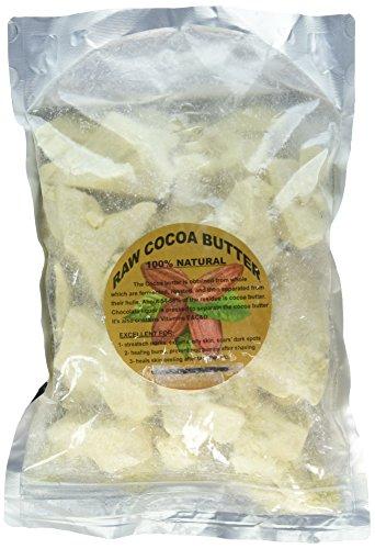 Price comparison product image Raw PRIME & PURE Cocoa Butter 100% Fresh (2 LB)