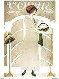 Vogue Vintage Covers Pop Art Poster Print Milllinery Number (PDP022)