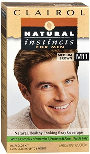 Natural Instincts For Men Haircolor M11 Medium Brown 1 Each by Clairol by Clairol