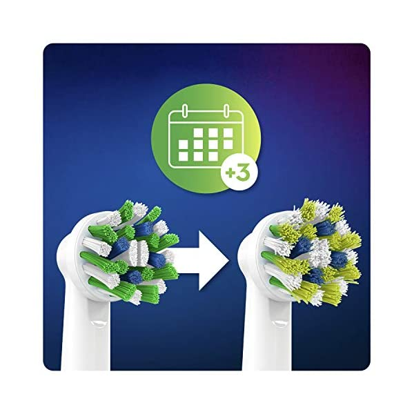 Oral-B CrossAction Brossette Avec Technologie CleanMaximiser