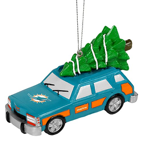 NFL Station Wagon Ornament-Miami Dolphins