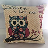 GBSELL-Pillow-Cover-Owl-Retro-Embroidery-Pillow-Case-Sofa-Throw-Cushion-Cover-Home-Decor45cm45cm