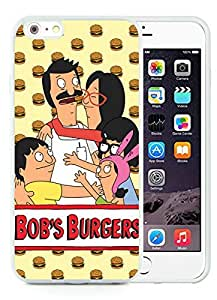 Bob's Burgers White iPhone 6 Plus 5.5 inch TPU Cellphone Case Luxurious and Newest Design