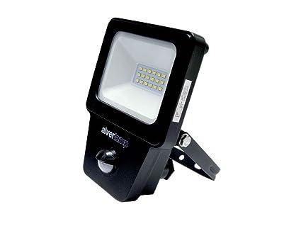 Alverlamp LPRO10SEN - Proyector led sensor 10w 4000k