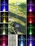 Solaration 1016 Decorative Celtic Cross, Garden/yard Decor Stake White LED Landscape Light