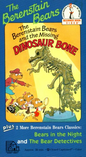 Amazon.com: The Berenstain Bears and the Missing Dinosaur Bone ...