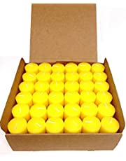 Set of 72 Votive Citronella Candles - Summer Scented Candles Scare Away Mosquito, Bug and Flies- for Indoor/Outdoor Use - 10 Hour Burn Time - Made in USA