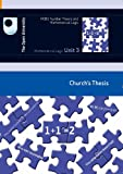 img - for Mathematical Logic: Church's Thesis book / textbook / text book