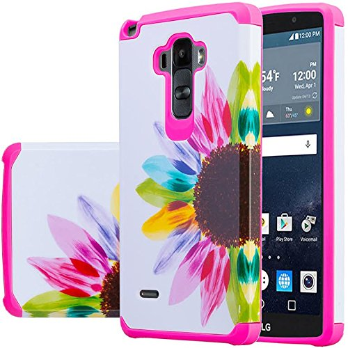 new style 5a69d fa351 LG Vista 2 Case, LG G Stylo Case, LG G Stylo / LG G VISTA 2 Hybrid Dual  Layer Armor Defender Protective Case Cover [Shock Absorption / Impact ...