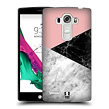 Head Case Designs Colour Blocking Marble Trend Mix Hard Back Case for LG G4 / H815 / H810