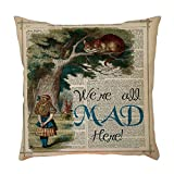 Cushion Covers Mother's Day Exquisite Pattern Flax Pillowcase Pillow Case Cushion Cover Sofa Home Car Decor