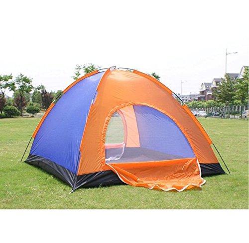 Outdoor-Camping Wasserdicht Oxford-Gewebe Zwei Tôrzelt fôr 3-4 Personen