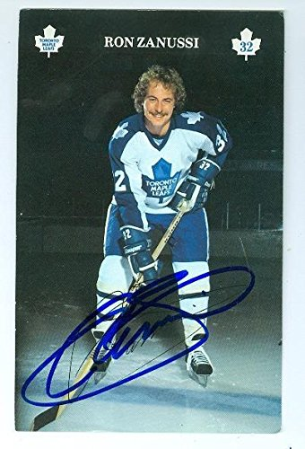 Ron Zanussi autographed postcard (Toronto Maple Leafs) for sale  Delivered anywhere in USA