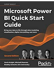Microsoft Power BI Quick Start Guide: Bring your data to life through data modeling, visualization, digital storytelling, and more, 2nd Edition