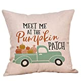 1 Pack Halloween Throw Pillowcase Decor Sofa Cushion Cover Car Pumpkin 18