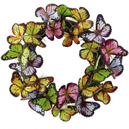 Brilliant Butterflies Wreath - 4