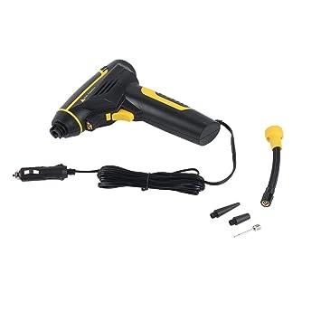 Delicacydex Compresor portátil de Aire comprimido con compresor de Aire Recargable USB Compresor de Aire para automóvil - Negro: Amazon.es: Coche y moto