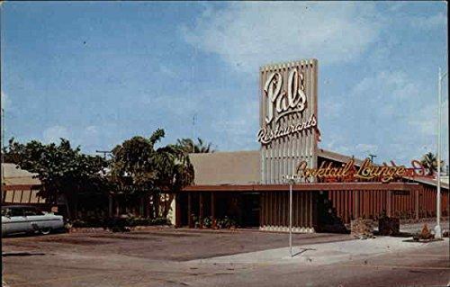 Hank Hagmanns Pals Restaurants Fort Lauderdale Florida Original