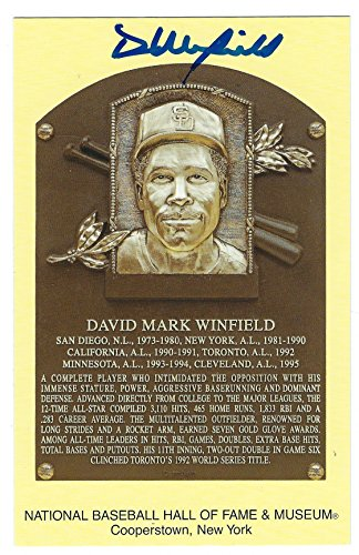 Dave Winfield Hall Of Fame - 2