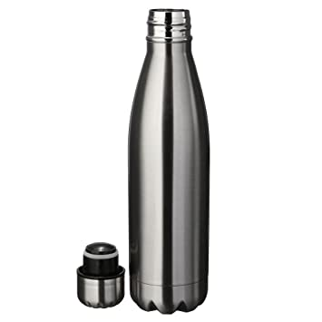 KingNew Botellas de vacío, Termo de Agua Aislado de Doble ...