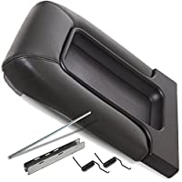Center Console Lid Kit 19127364 For 99-07 GM, Chevrolet - Fits OEM Genuine Factory Aftermarket Replacement Part - Dark Gray