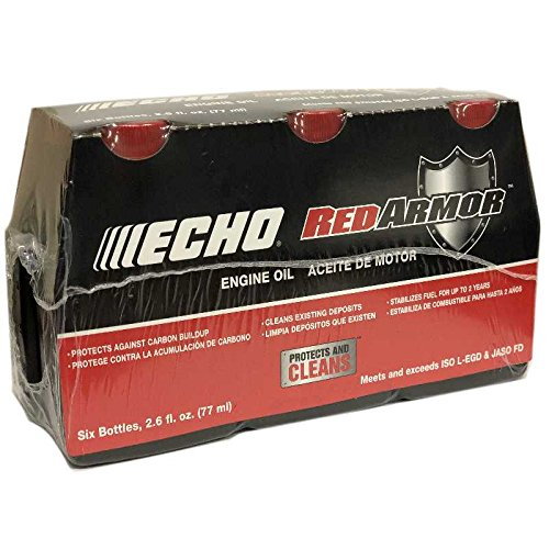 Echo 6550001 Red Armor 2-Cycle Engine Oil, Pack Of 6 by Echo
