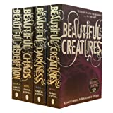 download ebook beautiful creatures collection kami garcia margaret stohl 4 books set (beautiful darkness, beautiful creatures, beautiful chaos , beautiful redemption) pdf epub