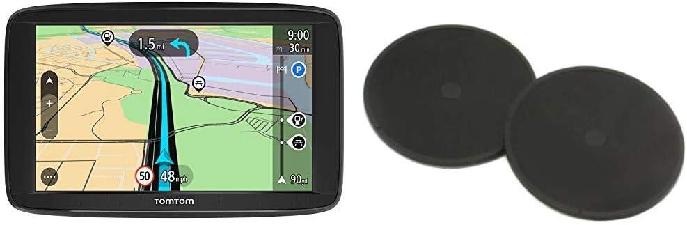 Disques de Fixation Adh/ésifs pour Tableau de Bord 6 Pouces Cartographie Europe 48 Cartographie /à Vie Adapt/és /à Tous Les GPS TomTom - GPS Auto TomTom Start 62