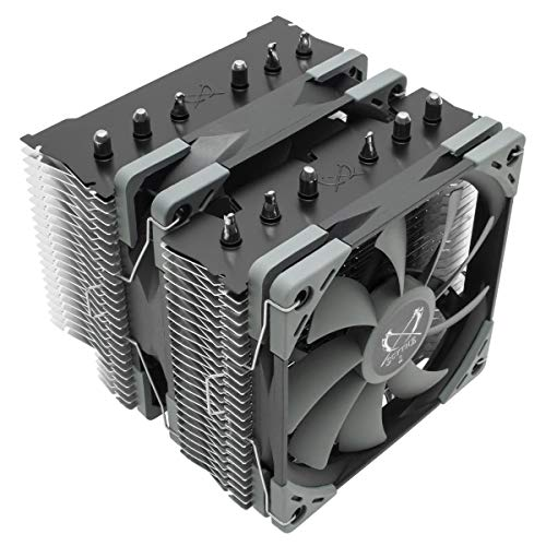 Scythe Fuma 2 120mm Air CPU Cooler, Twin Heatsinks/PWM Fans with 6 Heatpipes, Intel LGA1151, AMD AM4/Ryzen