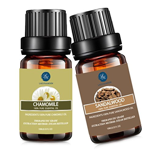 Chamomile Sandalwood Essential Oil,10ML Natural...