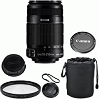 Canon EF-S 55-250mm f/4-5.6 IS II Celltime Zoom Lens Kit for Canon EOS 7D, 60D, EOS Rebel SL1, T1i, T2i, T3, T3i, T4i, T5i, XS, XSi, XT, XTi Digital SLR Cameras Basic Intro Review Image