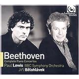 BEETHOVEN. Piano Concertos. Lewis/BBC/Belohlavek