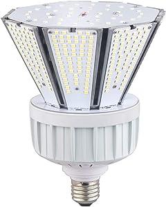 30 Watt Post Top Retrofit LED Invert Garden Corn Light 5000K Bulb, Large Mogul E39 Base, 360° Street/Garden Lighting Replacement for 100W Metal Halide Bulb, HID, CFL, MH, HID, HPS(UL-Listed)