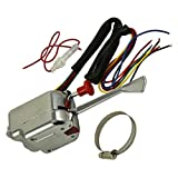 PerfecTech Chrome 12V Universal Street Hot Rod Turn Signal Switch for FORD BUICK GMC