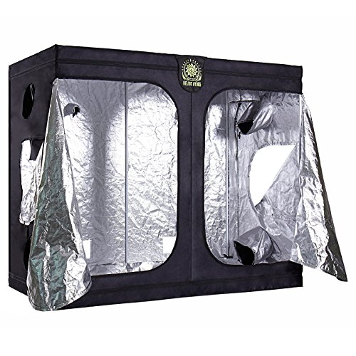 Helios 96'' x 48'' x 80'' Grow Tent – Indoor Mylar Hydroponic Plant Growing Room by Helios Hydro