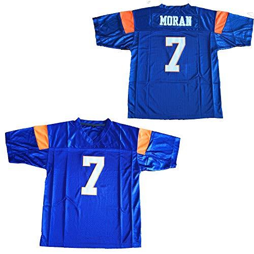 (Blue Mountain State 7 Alex Moran Football Jersey Blue (Blue,)