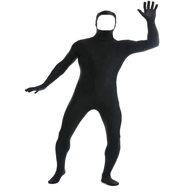 Amazon.com: YOMOSA Zentai - Body de licra y licra con cara ...