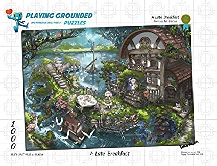 Amazon com: Playing Grounded Limited Edition Jigsaw Puzzle