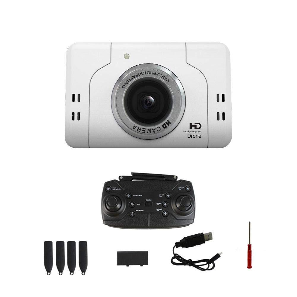Mini-Drohne 720P HD-Kamera Live-Video-Feed 2,4 GHz 6-Achsen-Gyro-Quadcopter für Kinder und Anfänger Höhe Halten Sie einen Schlüsselstart Faltbar