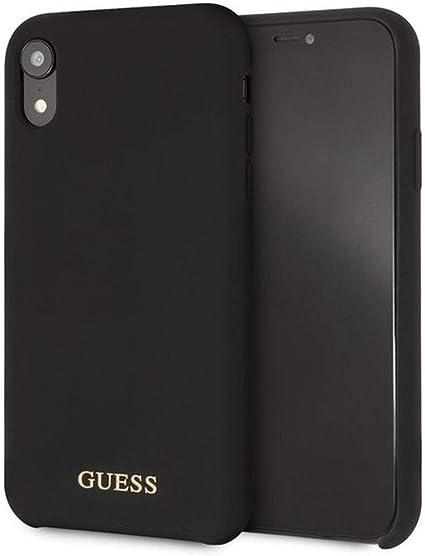 GUESS SAFFIANO Strap iPhone XS MAX CUSTODIA BACK CASE COVER ROSA