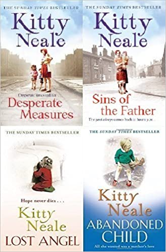 Kitty Neale 4 Book Set Collection Desperate Measures Sins Of The
