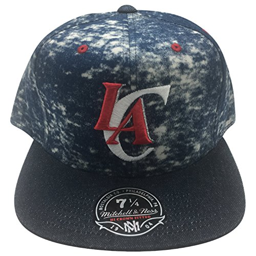 Los Angeles Clippers Mitchell and Ness Fitted Hat 7 1/4