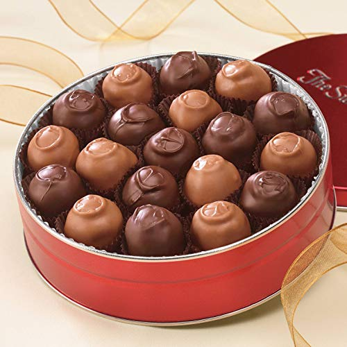 Chocolate-Covered Cherries, 10 oz. net wt. (approx. 17 to 20 Pieces) from The Swiss Colony