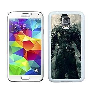 Dark Souls II White Cool Photo Custom Samsung Galaxy S5 I9600 Phone Case