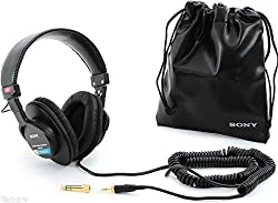 Sony MDR7506 Professional Large Diaphragm Headphone w/ Soft Case from Sony
